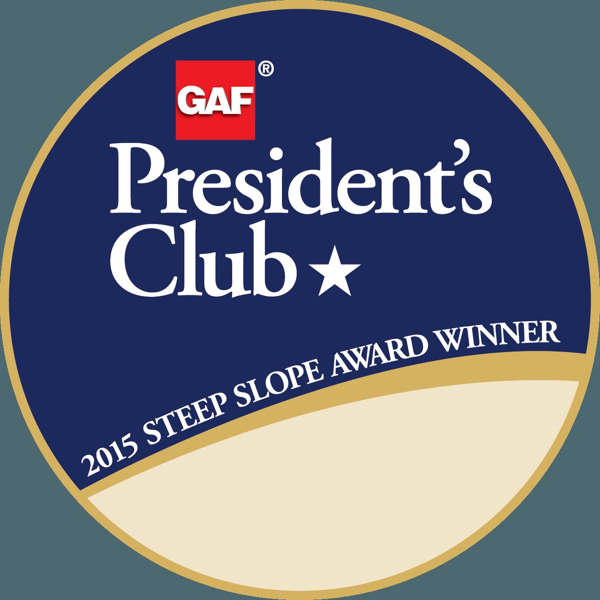 Steep Slope Presidents Club_2015-1 Star