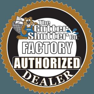 GutterShutter Factory Authorized Dealer Seal