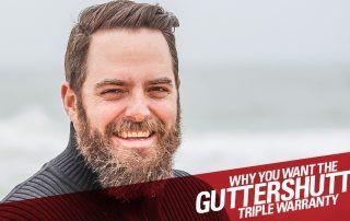 Why you want the guttershutter triple warranty